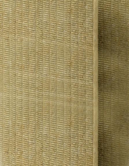 Plaque d'isolation en laine de roche