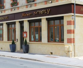 Decopierre extérieur aspect pierre de tailles et brique à Châlons en Champagne