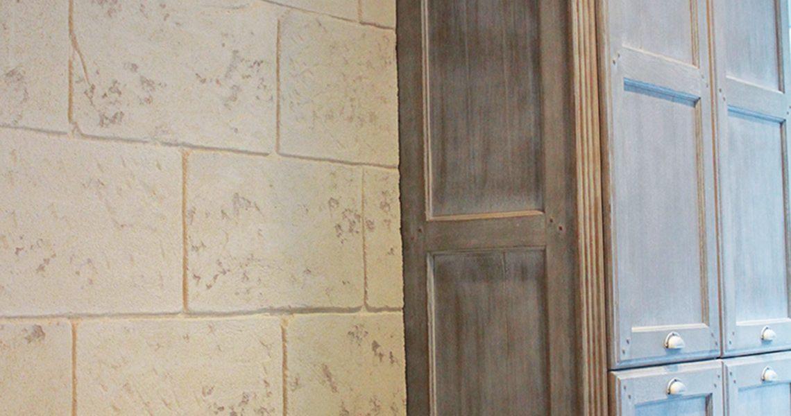 Decopierre intérieur aspectpierres de taille anciennes