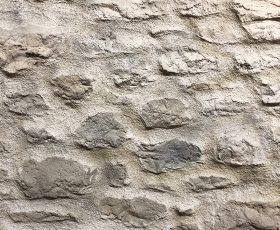 Détail enduit Decopierre pierre et joints patines à Cormontreuil près de Reims