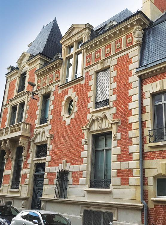 hydrogommage de façade en brique