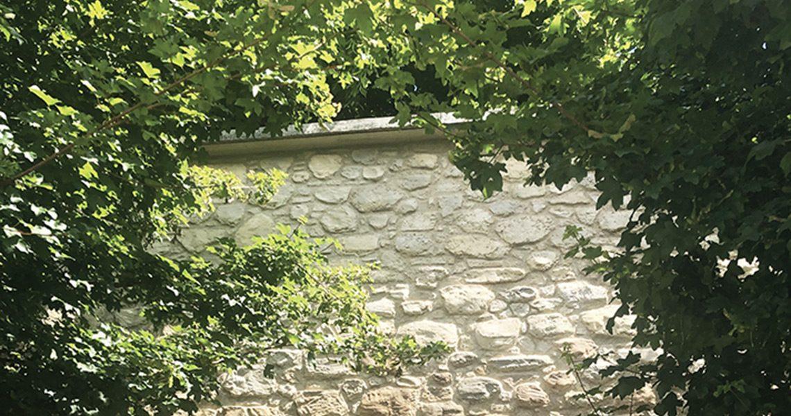 Mur d'enceinte Decopierre extérieur à Reims