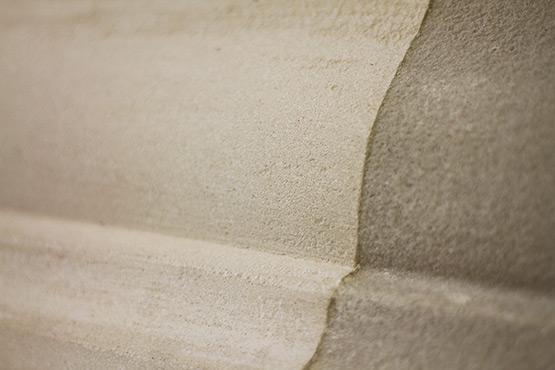 Nettoyage de mur en pierre