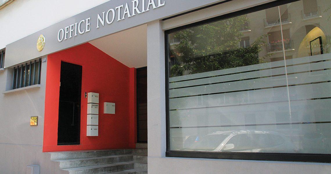 Peinture technique d'office notarial
