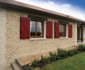 Ravalement de façade et chainage d'angles avec l'enduit Decopierre