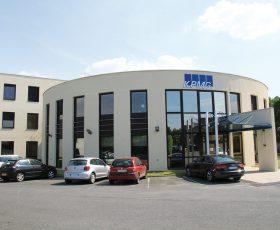 Ravalement de façade de l'immeuble KPMG à Reims
