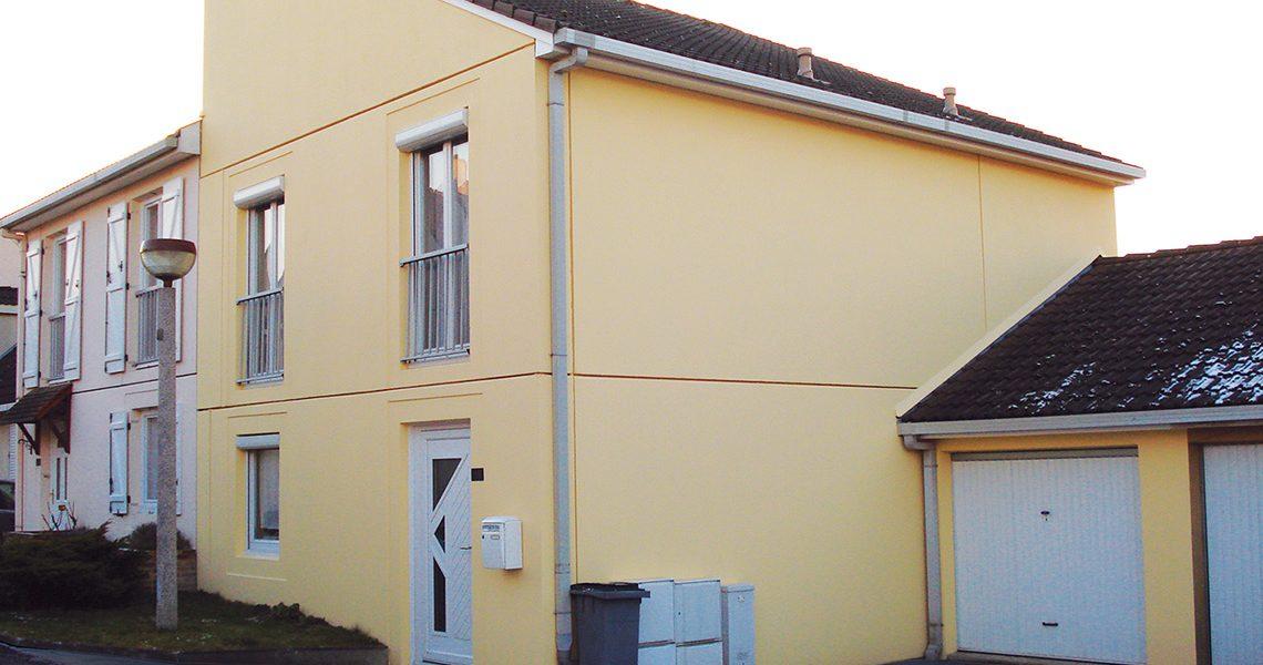 Ravalement de façade maison peinture technique