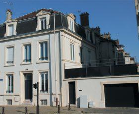 Ravalement de façade peinture à Reims