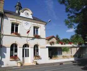 Ravalement peinture technique à la Mairie de Saint Léonard près de Reims