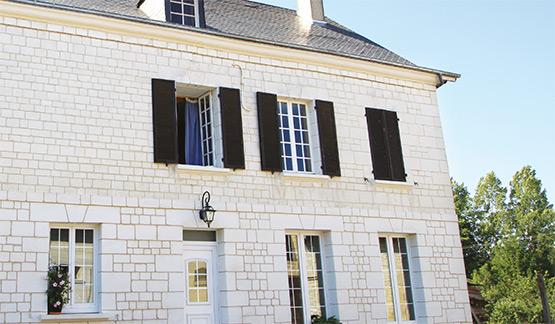 Traitement de facade en pierre