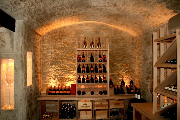Caveau à champagne en Decopierre