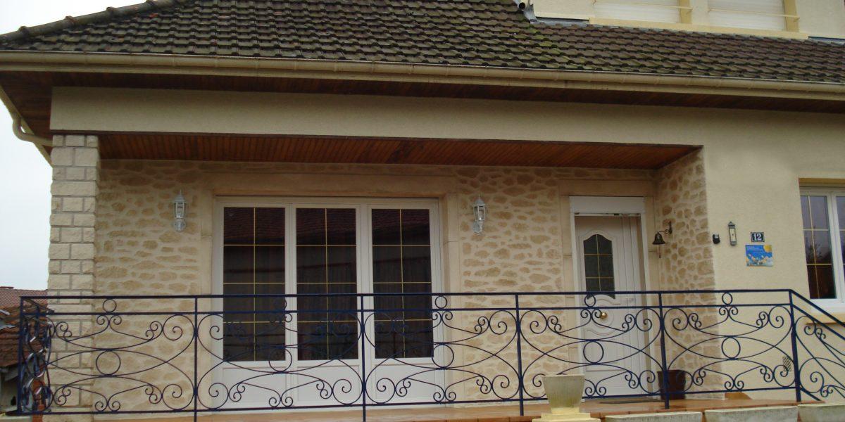 Decopierre extérieur mur et pilier