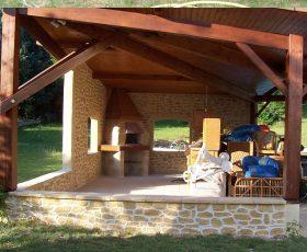 Decopierre extérieur terrasse couverte
