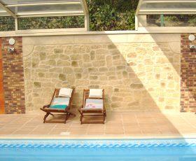 Decopierre mur de piscine