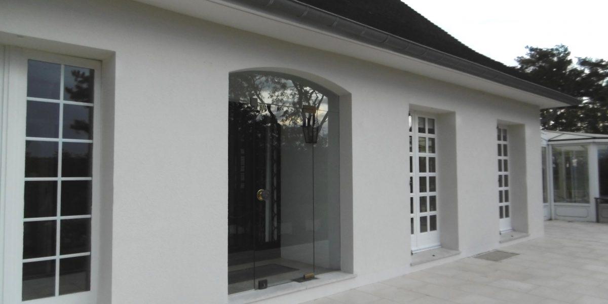 Peinture de façade de maison