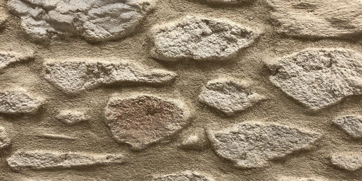 Imitation pierre en technique Decopierre
