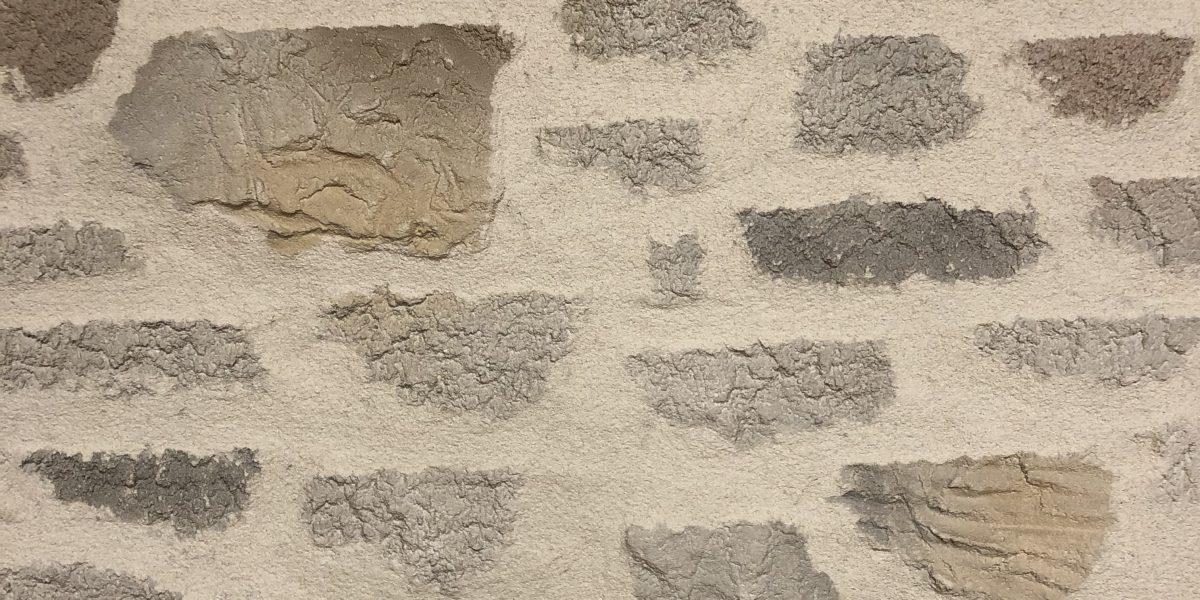 Mur enduit en Decopierre