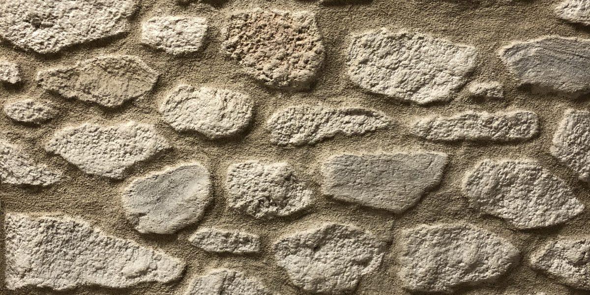 Imitation pierre avec enduit décoratif Decopierre