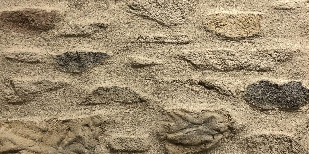 Mur avec enduit décoratif Decopierre