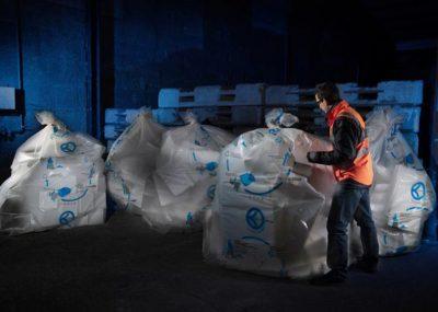 Habitat & Traditions recycle les déchets issus de l'Isolation Thermique par l'extérieur